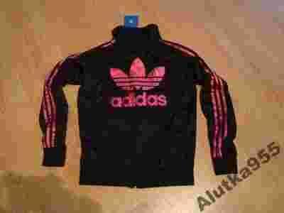 bluza adidas czarno różowa