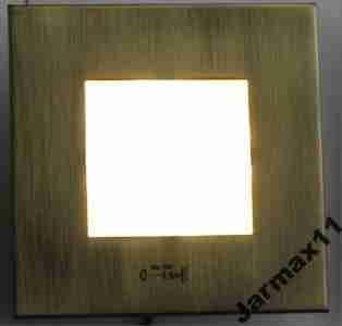 Oświetlenie Schodowe Led 230v 2w Do Puszki Fi 60mm