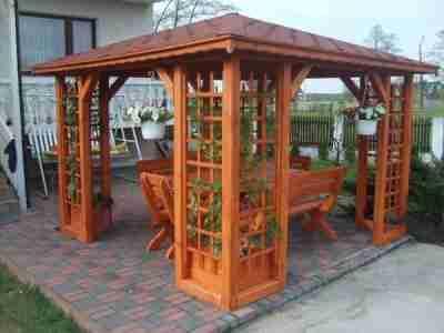 Altanki ogrodowe drewniane podlaskie