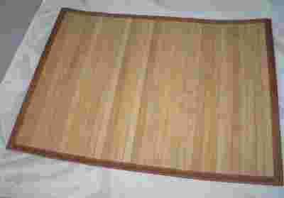 Mata bambusowa na podłogę