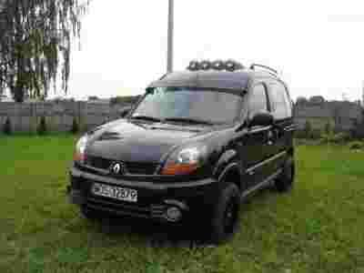 renault kangoo 4x4 1 9 off road idealny terenowy. Black Bedroom Furniture Sets. Home Design Ideas