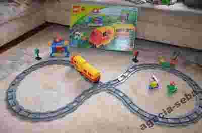 3771 Lego Duplo Duży Zestaw Kolejka Elektryczna