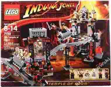 Lego Indiana Jones 7199 świątynia Zagłady Nowa