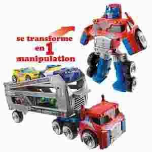 transformers hasbro optimus prime przyczepa tir. Black Bedroom Furniture Sets. Home Design Ideas