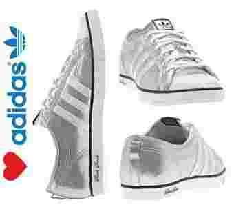 Buty Adidas Nizza V22403 SREBRNE 39 13 Blogerka