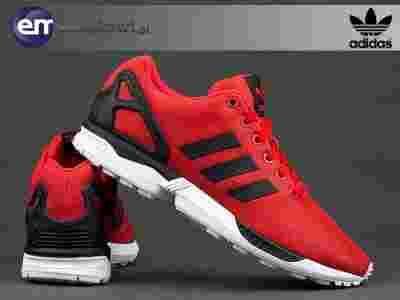 buty adidas zx flux czerwono czarne