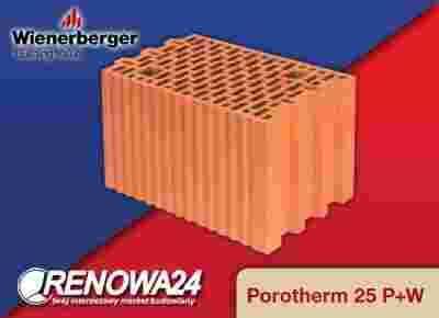 Porotherm Wienerberger 25 P W E3 Wroclaw Kl 15